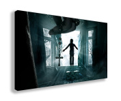 THE CONJURING 2 2016 HORROR MOVIE WALL ART CANVAS