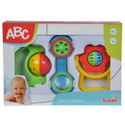 Simba ABC Baby Rattle Set, 3 Pieces