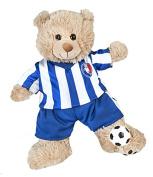All Stars Football Uniform with Ball for a teddy bear