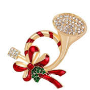 Cdet 1X Brooch Women Flower Diamond Pin Christmas Wedding Bridal Pin Dress Scarves Shawl Clip Ladies Jewellery Love Gift