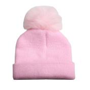 KEERADS Baby Hat, Warm Winter Kids Baby Hats Knitted Hemming Skullies Beanies Hat