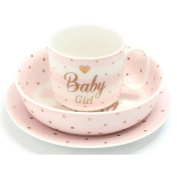 Mad Dots Baby Girl Set (One Size)