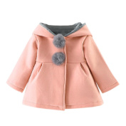 Baby Coat,Honestyi Baby Infant Girls Winter Warm Coat Jacket Thick Warm Clothes,Solid, Thick