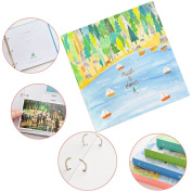6X4 First Year Baby Memory Photo Albums Books Kids Journal Gift for Boy & Girl Instant Mini Picture Album 80 Pockets Keepsake Forest Galaxy Country