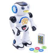 GYMAX Infrared RC Robot Intelligent Remote Control Walking Dancing Singing Shooting Kids Toy
