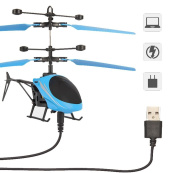 XXYsm Flying Mini RC Infraed Induction Helicopter Aircraft Flashing Light Toys For Kids