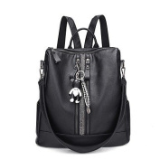 BOAOGOS Women Bags All Seasons Backpack for Casual Black,Black