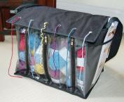 MySmartBuy Knitting Zip Up Shoulder Strap Organiser Needlecraft Accessories