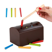 Catching The Worms - Wooden Magnetic Sorter Game Kids Fun Toy Set for for Children's Early Learning