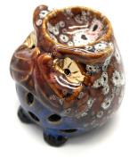 Speak No Evil Brown Owl Ceramic Oil Burner