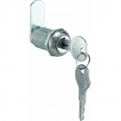 Prime Line Products CCEP 9945KA 2.9cm Stainless Steel Cabinet Lock