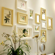 Modern Creative Solid wood Photo wall Living room Photo Frames wall Multi Picture Photo Frames combination
