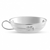 Vera Wang by Wedgwood – Silver Plated Infinity Baby Porringer / Bowl
