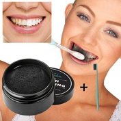 Kamoku101 Activated Charcoal Teeth Whitening Powder Natural Organic Bamboo Toothpaste
