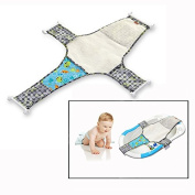 Itian Newborn Baby Bath Seat Net Safety Bathing Bed Support Sling Hammock Net for Tub