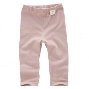 Babiesnature Pink/ White Leggings Pants Baby Organic Cotton 12 Months Indian Pink