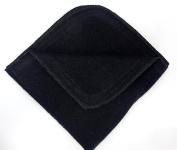 Babymajawelt Molton Washcloths, 25 x 25 – 10 Black Supersoft and Linen Net Novelty