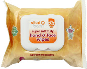 Vital Baby Super Soft Fruity Hand and Face Wipes, by Vital Baby