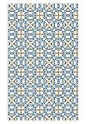 Huella Deco h1016-ca-xs Maiolica Rug Carpet Mat Floor, Vinyl, 57 x 96 cm
