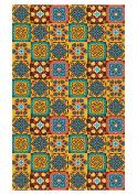 Huella Deco Arabesque Rug Carpet Mat Floor, Vinyl, 57 x 96 cm