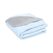 Mix and match Duo Noukies Groloudoux Blanket 75 x 100 cm Blue