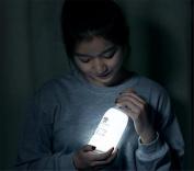 SIRIUS HEART Night Light, Milk Bottle, With Sleep Message Light, USB Charging Feeding Lamp, Message Pen Bed Head Sleep