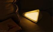 SIRIUS HEART Flip Night Light, Rock Lime, Irregular Polygon Headlamp, Nordic Fashion Simple, Bedroom, Nursing, Yellow Light