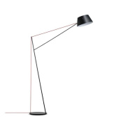 Atmko®Modern Floor Lamp Simplicity Design Fishing Lamp Adjustable Black Long Arm Wrought Iron Standing Reading Lamp Light With Foot Switch For Bedroom Living Room