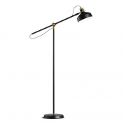 Atmko®Modern Floor Lamp Nordic design fishing lamp black Adjustable Metal Standing Reading Lamp Light With Foot Switch For Bedroom Living Room