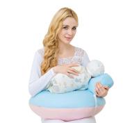 LUOTIANLANG Multifunctional nursing pillow pillow for baby feeding pregnant women waist nursing pad baby sitting pillow,C,Perimeter 170cm