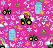 John Deere Farm Fresh Fabric, Cotton, Multicolor