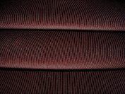 Cotton Corduroy Fabric - Dark Brown Needlecord -145cm wide - 16 wale - per metre