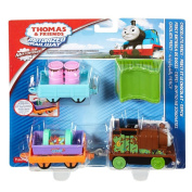 Fisher Price Train Carriage Toy - Thomas and Friends Motorised Railway - Choclate Percy Playset