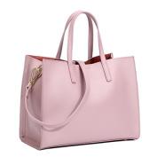 Meoaeo Simple All-Match Leather Leather Handbag Leather Shoulder Bag