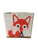 FoxyAssort 30x30x30cm Toy Chest Baskets Storage Bins for Kids & Children Toys, Blankets, Clothes - Storage cubes Perfect for Playroom & Shelves