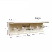 Freestanding Book Shelf / Desk Top Organisation Coat Rack Wall Coat Rack Hangers Racks Adhering The Coat Hook White