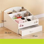 Freestanding Book Shelf / Desk Top Organisation Creative Desktop Cosmetics Cartridge Drawer Vanity A 19 * 28.5 * 27cm Racks