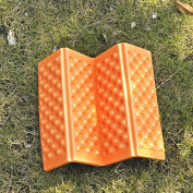 Chen Rui™ [38.5x27.5x1cm] Outdoor Foldable Portable EVA Honeycomb Foam Floor Mat Cushion Pad --- Waterproof / Damp-proof / Soft / Suitable For Garden, Park, Camping, Mountaineering, Hiking, etc