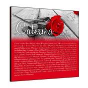Tavoletta Sprint 18 x 18 cm Caterina