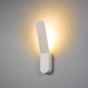 8W LED Wall Sconce Indoor Hallway Bedroom Spot Light Metal Decorative Lighting , warm white