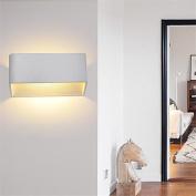 8W LED Wall Sconce Indoor Hallway Bedroom Spot Light Metal Decorative Lighting , warmwhite1