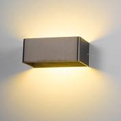 8W LED Wall Sconce Indoor Hallway Bedroom Spot Light Metal Decorative Lighting , warmwhite2