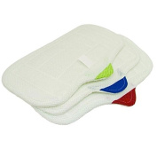 Pack Of 3 Hometek Steam Mop Cloth Pads HT824 HT855