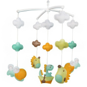 Infant Musical Mobile, Baby Gift, Handmade Creative Baby Toy, Colourful