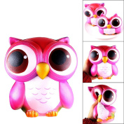 Creative Stress Reliever Squishy Squeeze Lovely Pink Owl Super Slow Rising Fun Soft Toy Child Gift