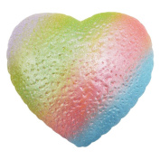 12cm Squishy Love Rainbow Galaxy Good Luck Chocolate Cream Stress Relief Toy ,Yannerr 10cm Simulatio Hamburger Super Slow Rising Scented Relieve Stress Toy