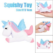 Squishies Slow Rising Jumbo Squeeze Soft Toys,VNEIRW Kawaii Unicorn Scented Stress Relief Toys