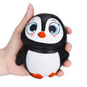Squishies Slow Rising Jumbo Squeeze Soft Toys,VNEIRW Cute Penguins Scented Stress Relief Toys