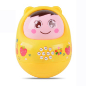 Musical Toys, Education Toy,LED Music Toy Roly Doll Baby Education Puzzle Toys