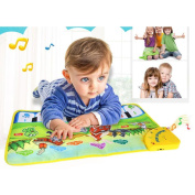 Musical Toys,Mat Toy, Hot Kids Baby Zoo Animal Musical Touch Play Singing Carpet Education Toy